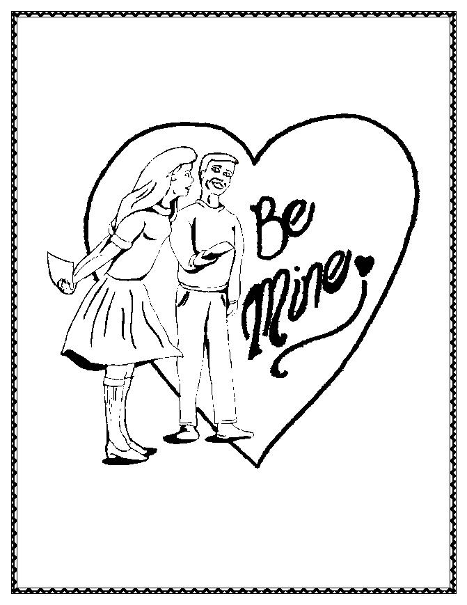 valentine coloring pages school family - photo #25
