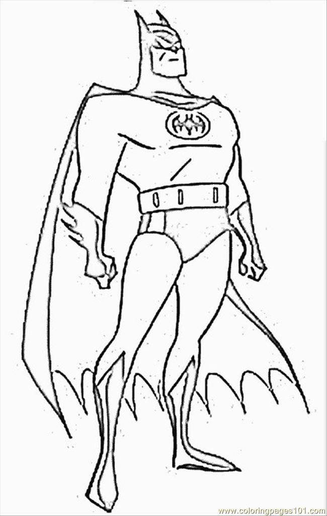 Batman And Robin Coloring Pages Coloring Home