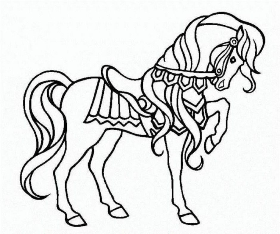 coloring pages horse - photo#26