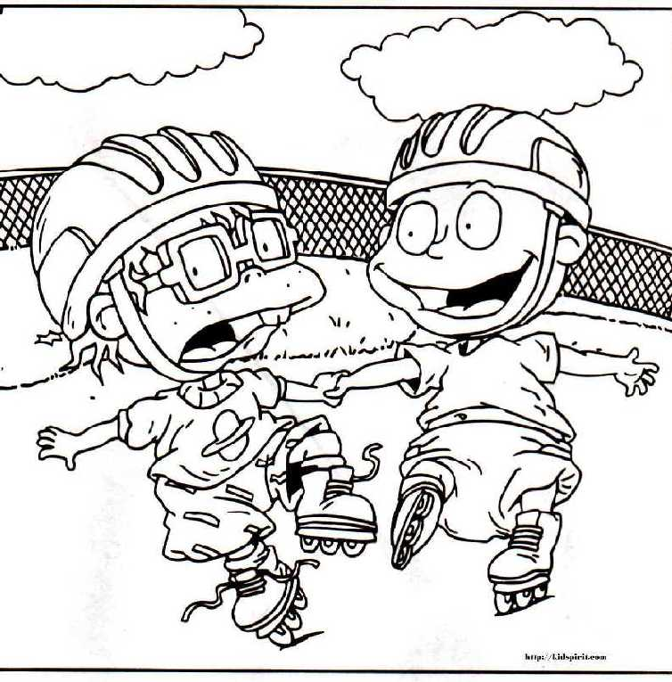 Rugrats printable coloring pages coloring home for Coloring pages everything