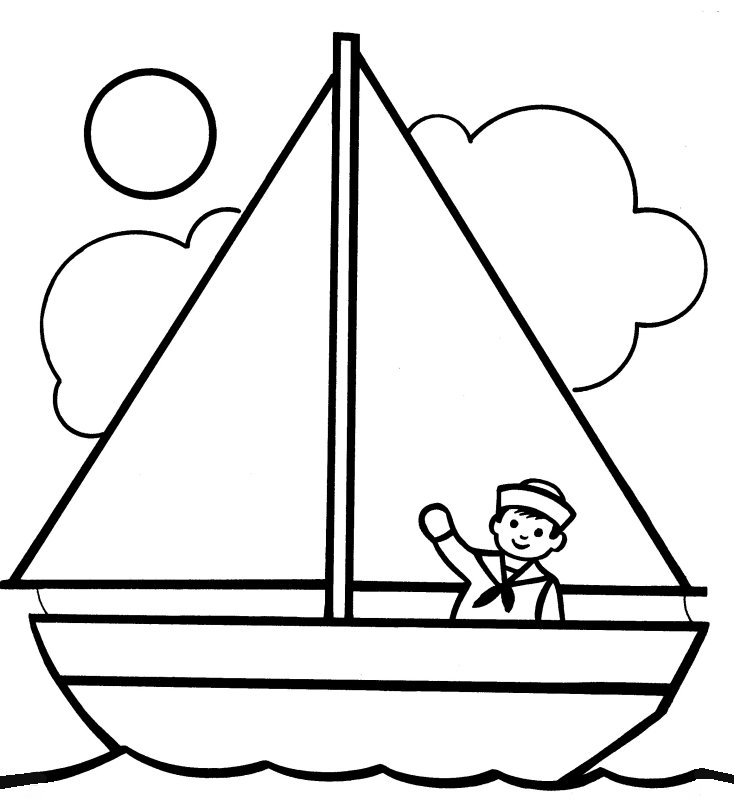 nile boats coloring pages - photo#7
