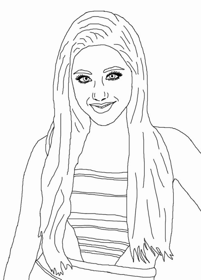 victorious coloring pages to print - photo#8