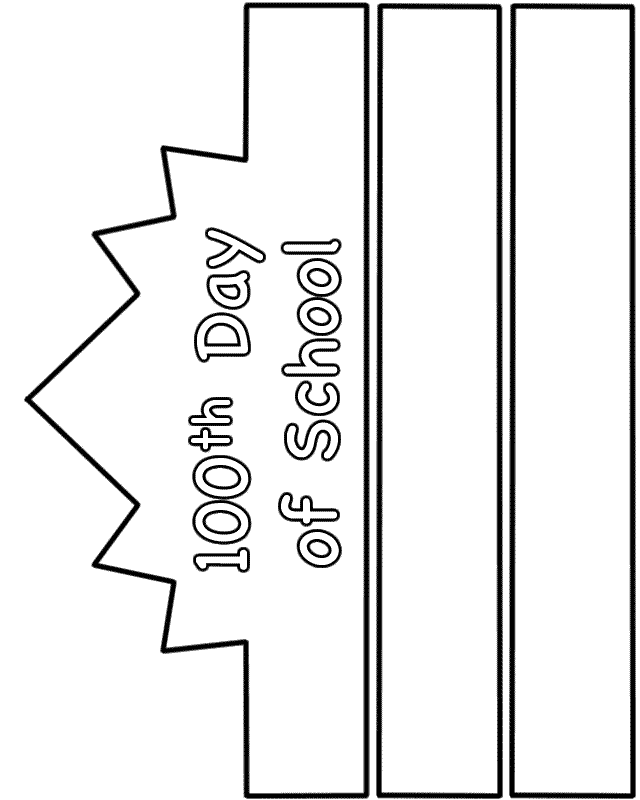 100th Day School Coloring Pages Coloring Home