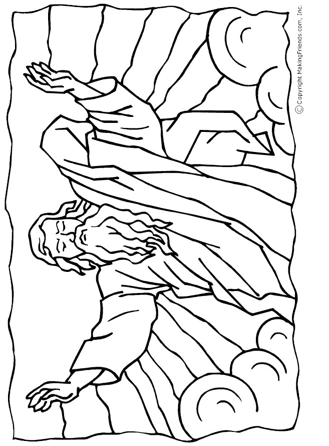 Crossing The Red Sea Coloring Page Az Coloring Pages Crossing The Sea Coloring Page