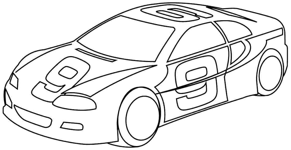 Coloring Pages Transportation Cars Free Printable For