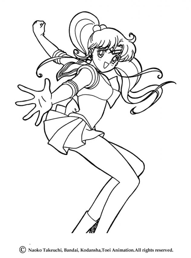 Coloring Pages Sailor Moon - Coloring Home