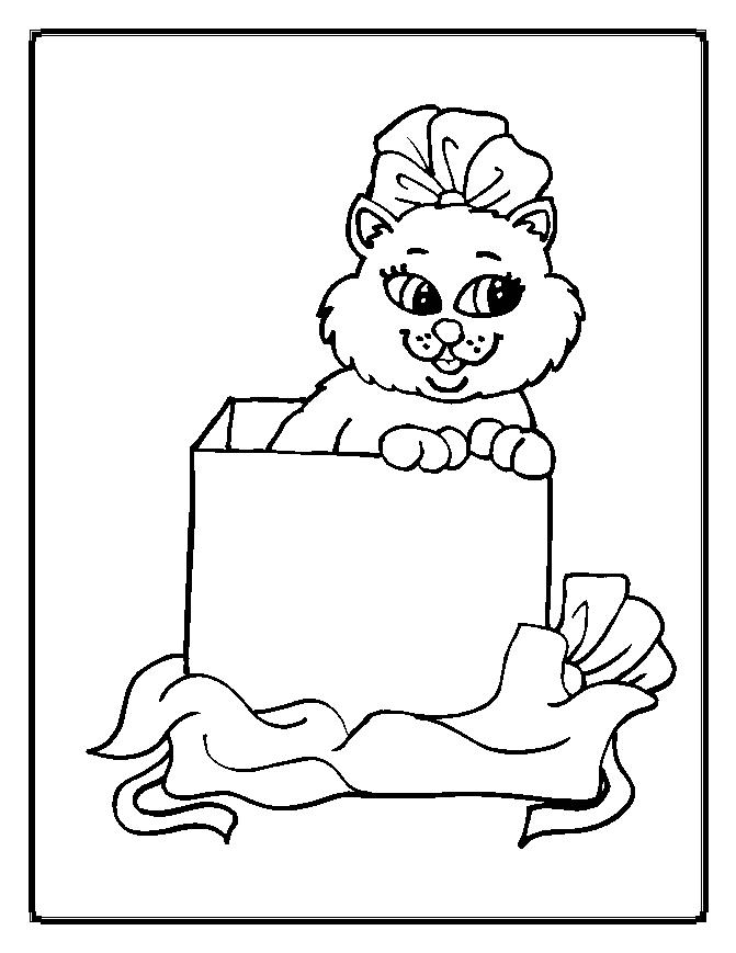 box coloring pages - photo#32