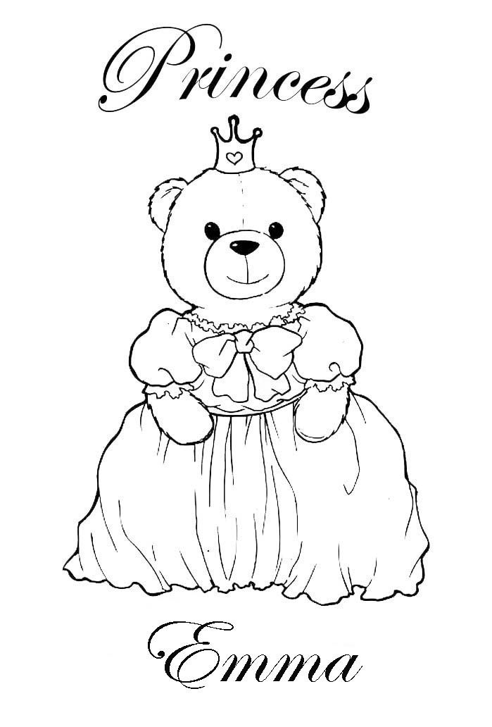 Customized Coloring Pages - Coloring Home