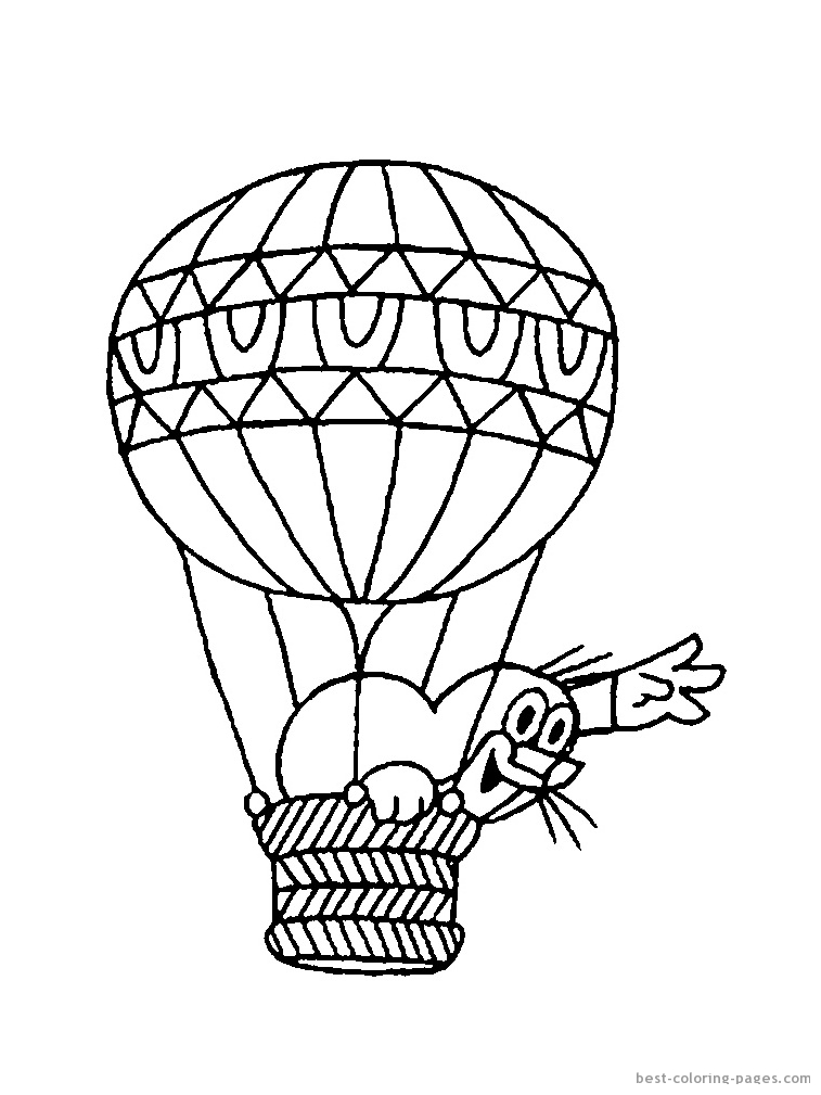 Balloon Template Printable AZ