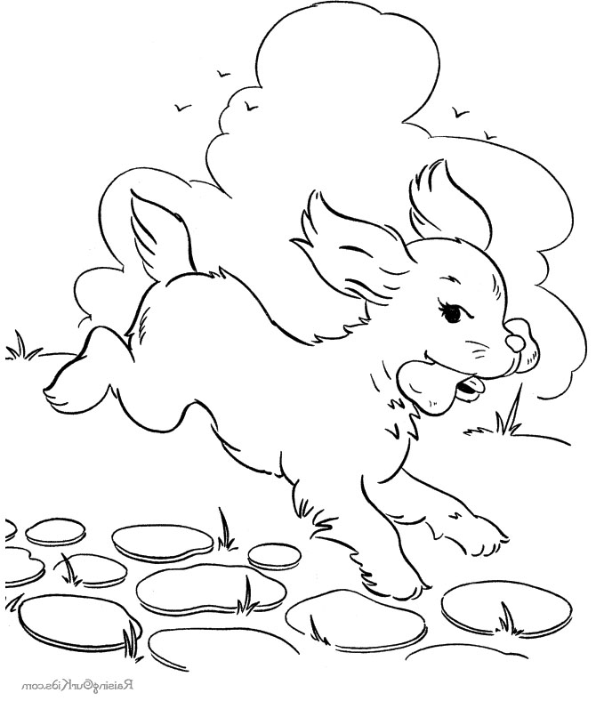 free dog bone coloring pages - photo#11