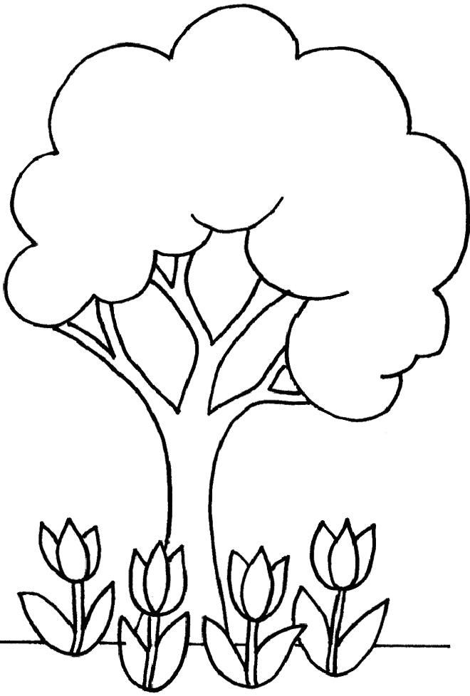 little flower coloring pages - photo#26
