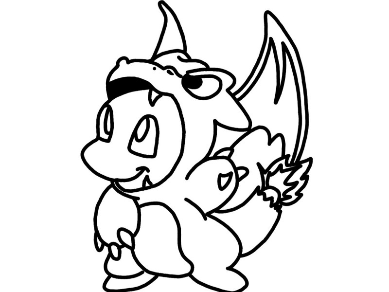 charmander coloring pages az coloring pages