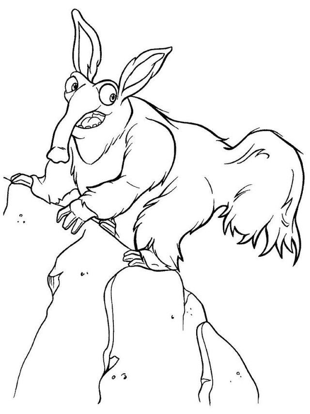 Ice Age 3 Coloring Pages Coloring Home Age Coloring Page
