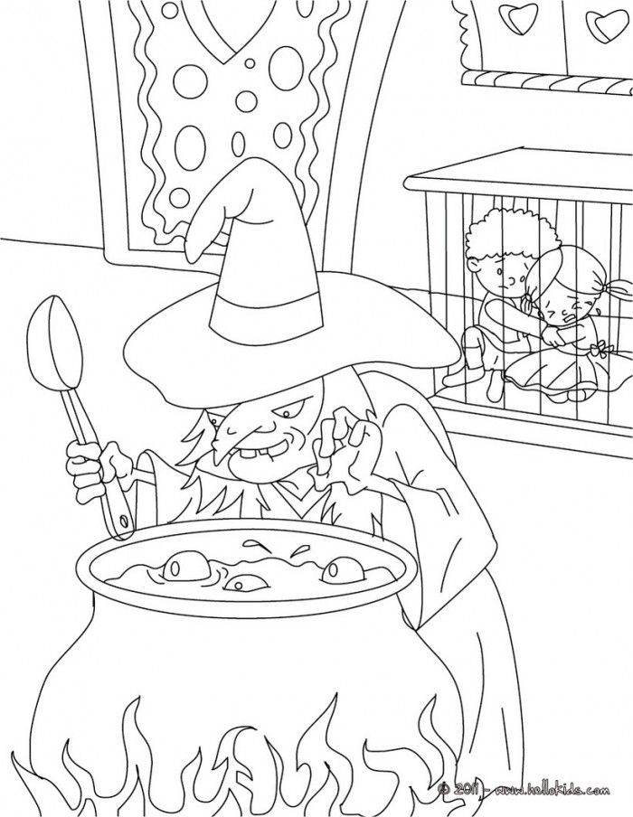 Hansel And Gretel Coloring Pages | 99coloring.com
