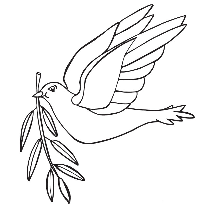 Peace Dove Coloring Page Az Coloring Pages Peace Dove Coloring Page