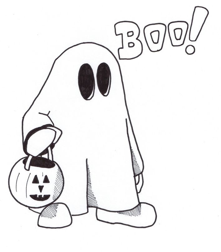 Free Printable Ghost Coloring Pages For Kids Coloring Home