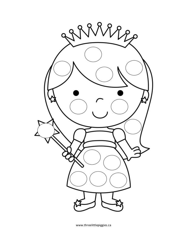 bingo dot coloring pages - photo#2