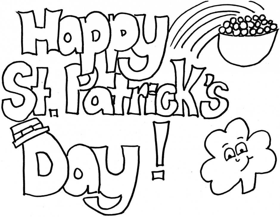 coloring pages st patrics day - photo#36