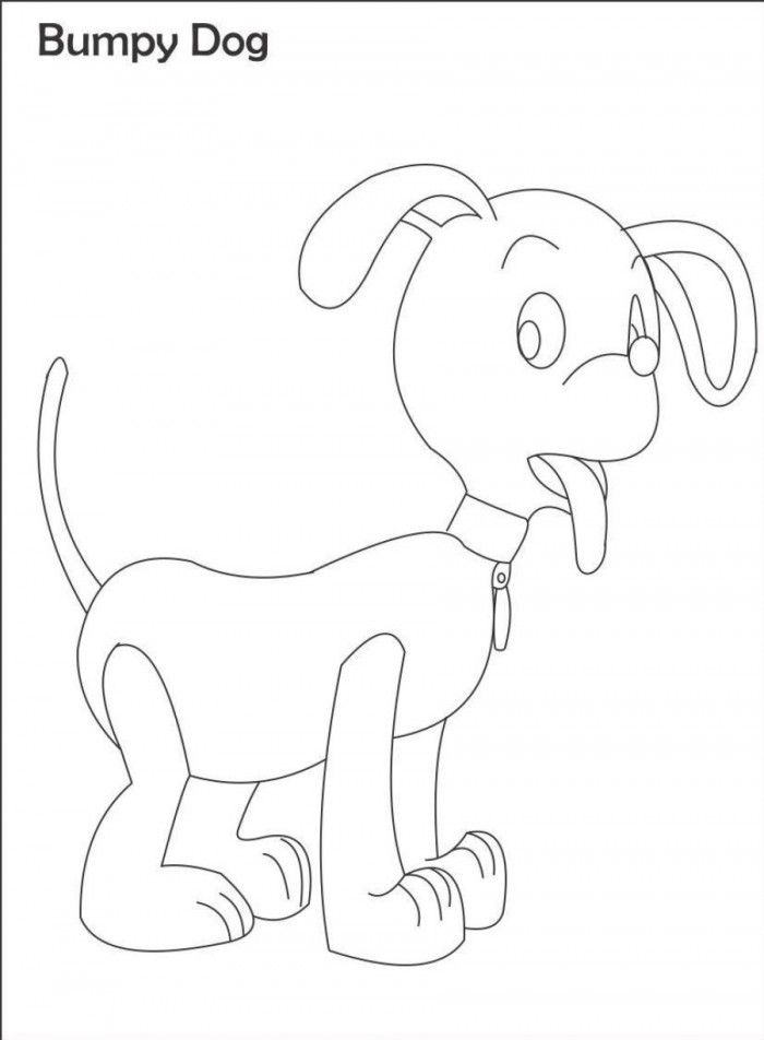 Dog Ears Coloring Pages