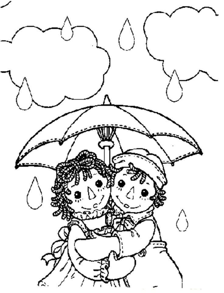 Raggedy ann and andy raggedy ann andy holly hobby for Raggedy ann and andy coloring pages