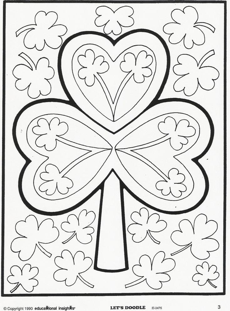 Lets doodle colouring pages