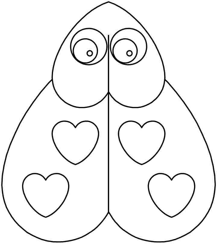 valentine coloring pages preschool - photo #47