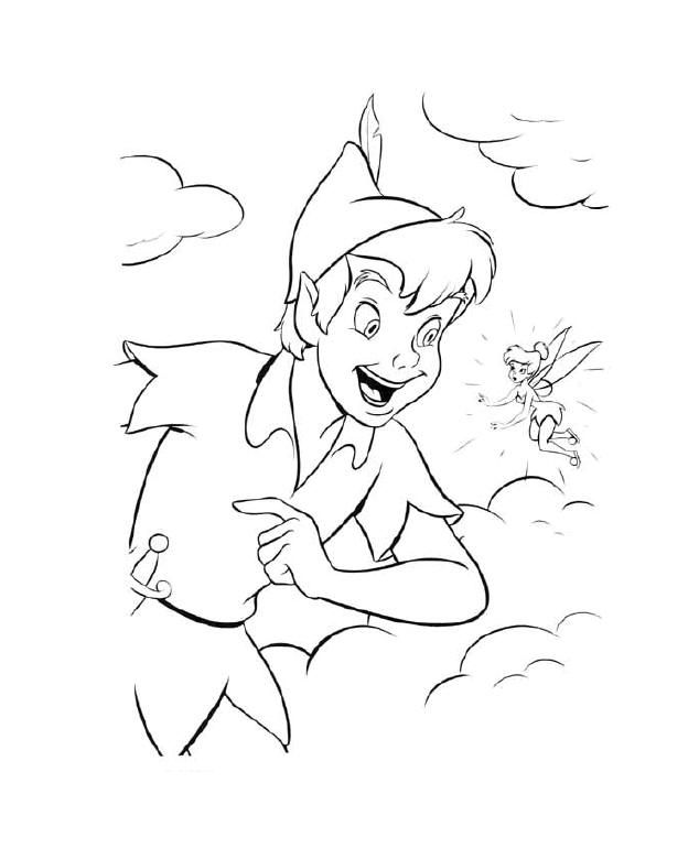Peter Pan Characters Pictures - AZ Coloring Pages