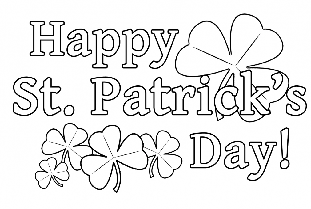 coloring pages st patrics day - photo#32