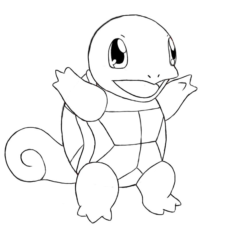 charmander bulbasaur squirtle coloring pages - photo#28