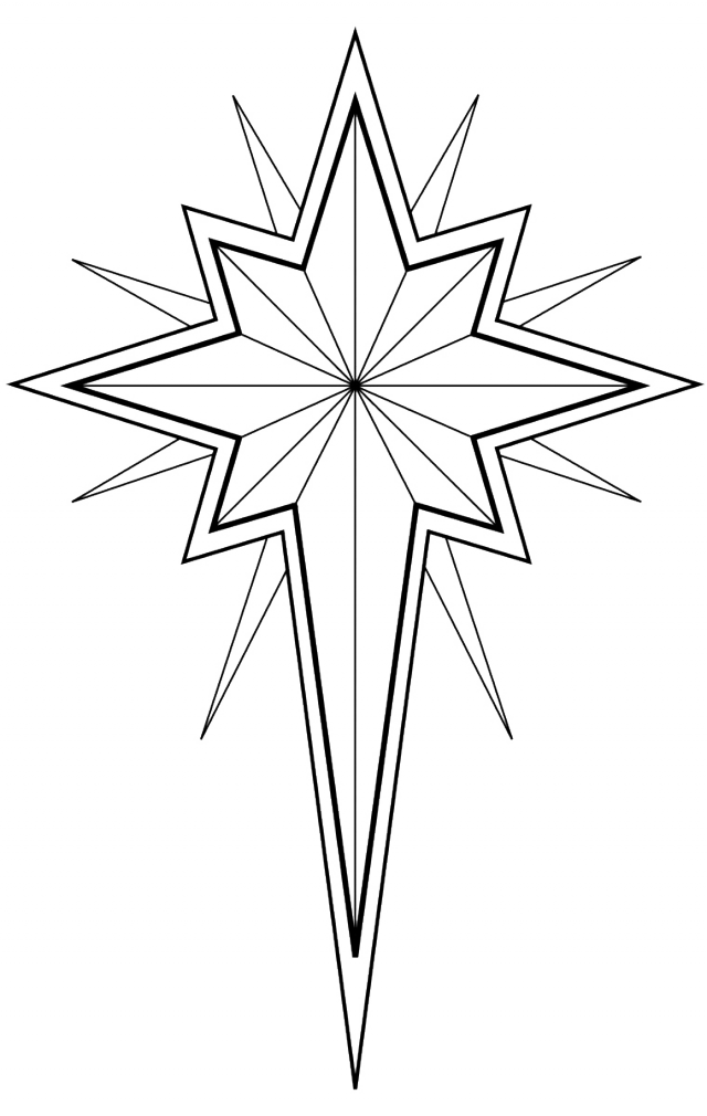 free coloring stars pages - photo#6