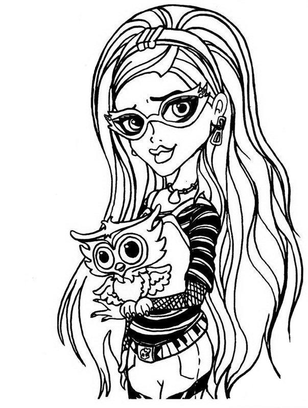 Print Monster High Pictures  Coloring Home