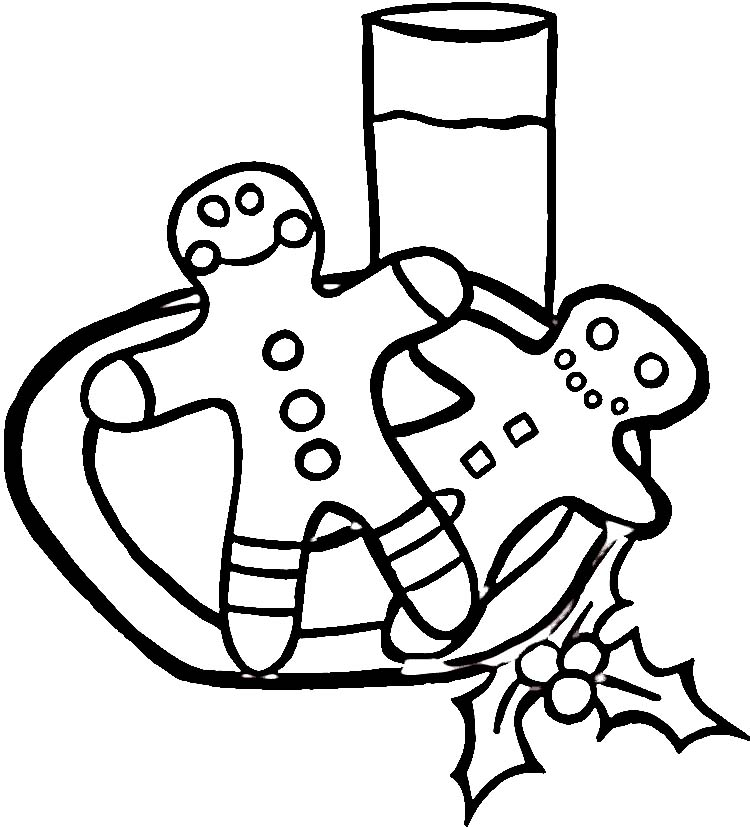 Gingerbread Man Coloring Page AZ Coloring Pages