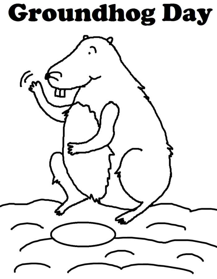 woodchuck coloring pages for kids - photo#9