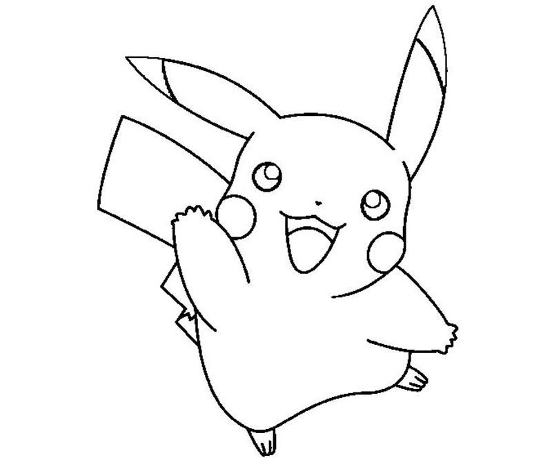 Pikachu Coloring Page Coloring