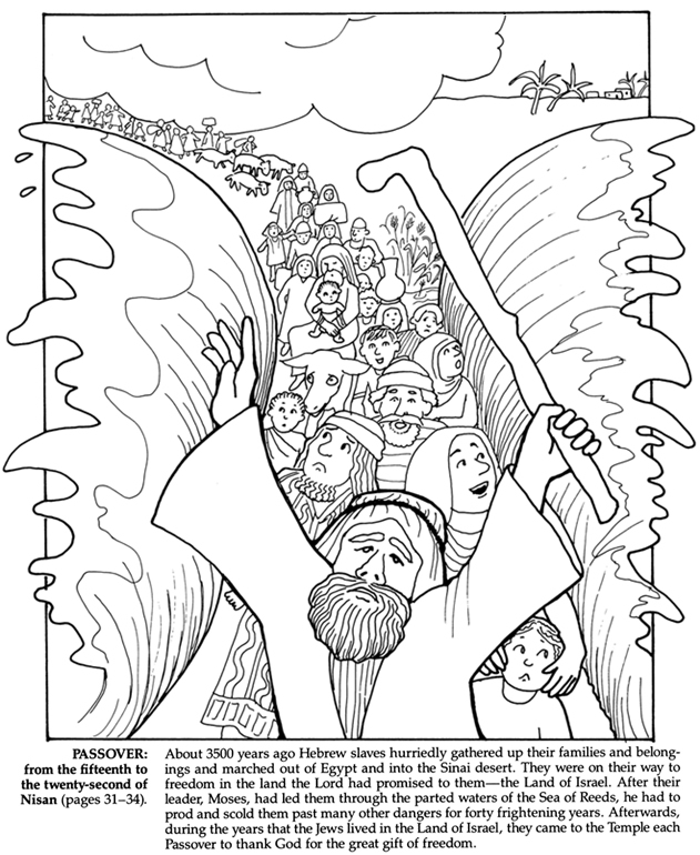 Passover Coloring Page Az Coloring Pages Passover Coloring Page