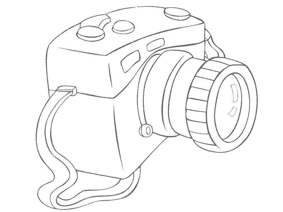 Printable Camera Coloring Pages Coloring Coloring Pages