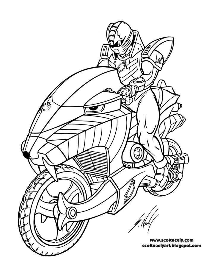 power ranger coloring pages printable - photo#13