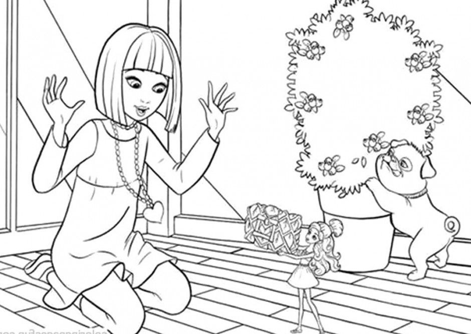 thumbelina 1994 coloring pages - photo#21