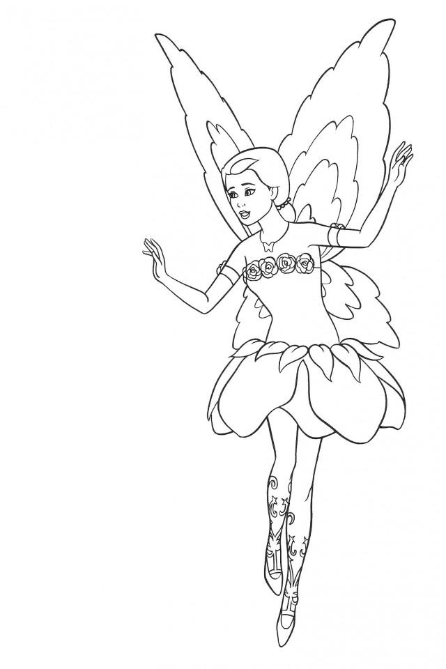 Barbie Lumina Coloring Pages : Barbie fairy coloring pages az