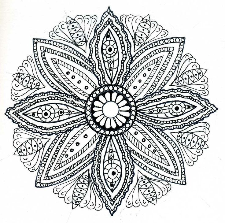 free coloring pages of mandalas - photo#23