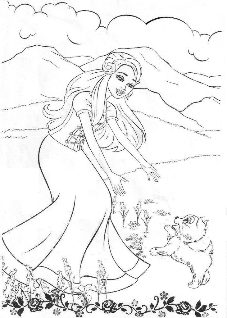 Coloring Pages Barbie Nutcracker : Free nutcracker coloring pages az