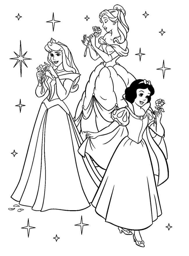 Printable Coloring Book Pages, Vintage, Disney, Kid Materials On Pint… -  Coloring Home
