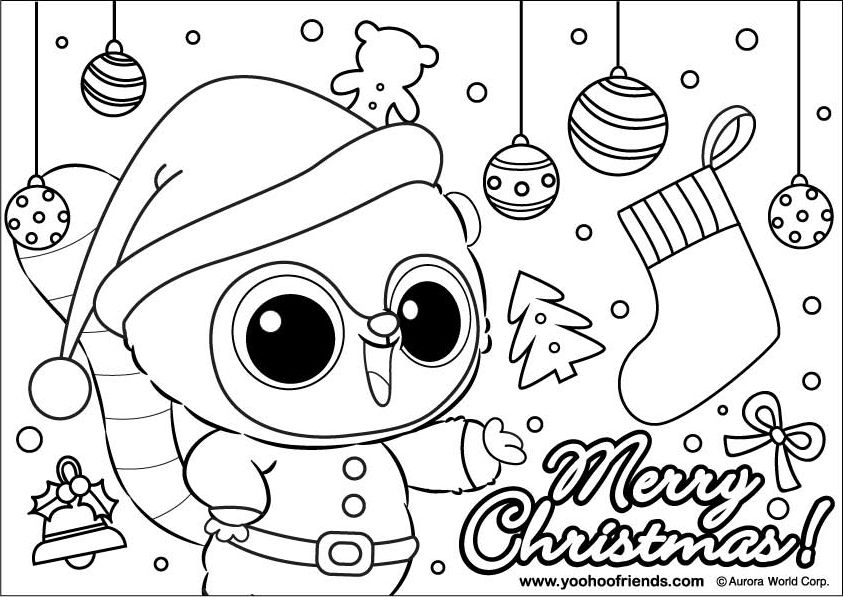 yoohoo y friends Colouring Pages (page 2)