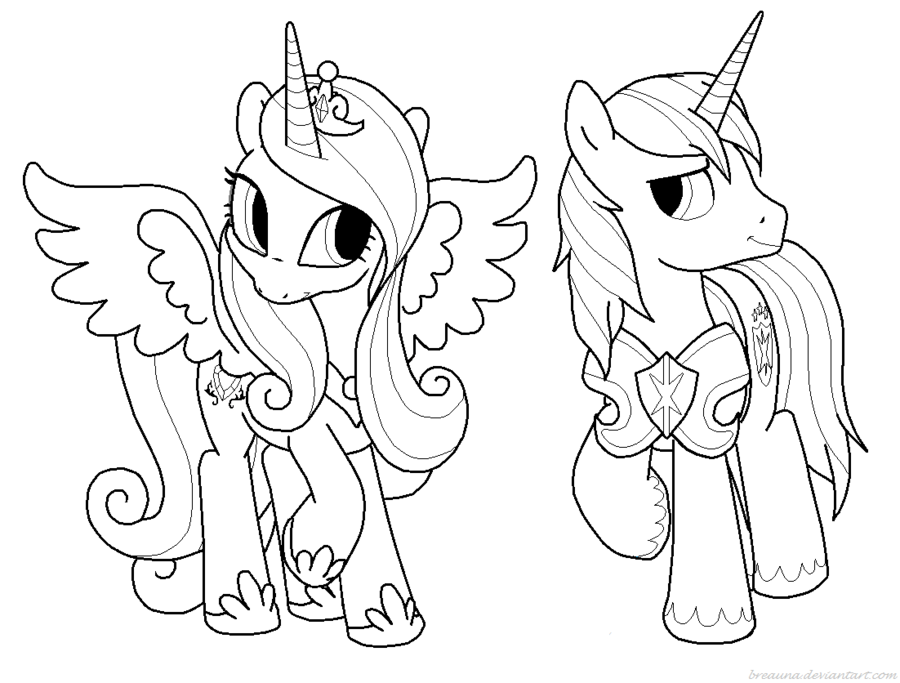 My Little Pony Princess Cadence Coloring Pages Coloring Home Pictures Of Princess Cadence Printable