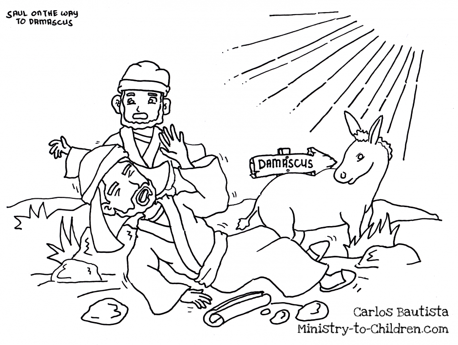 The Apostle Paul Coloring Page 184676 Bible Pages