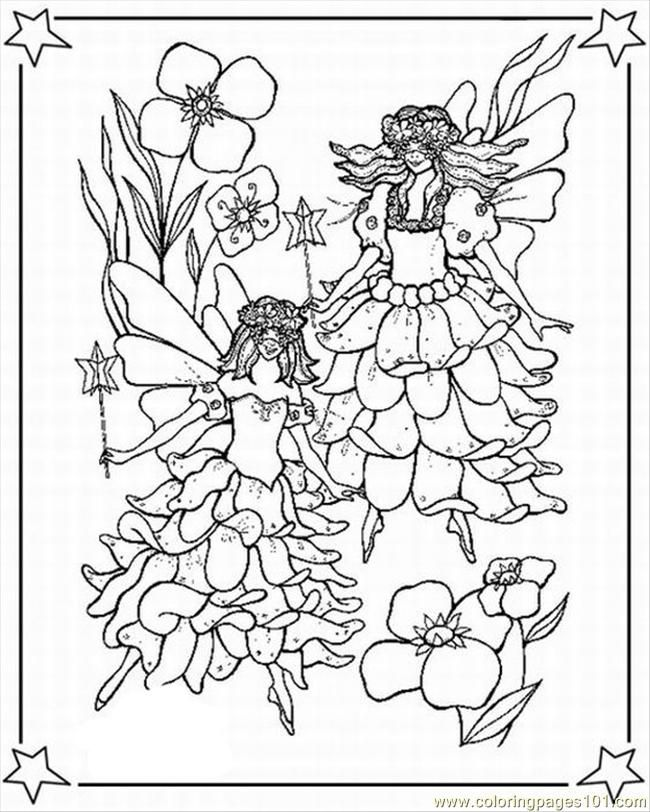 Disney Fairies Coloring Pages To Print For Free