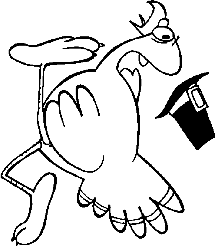Turkey Coloring Pages 340 | Free Printable Coloring Pages