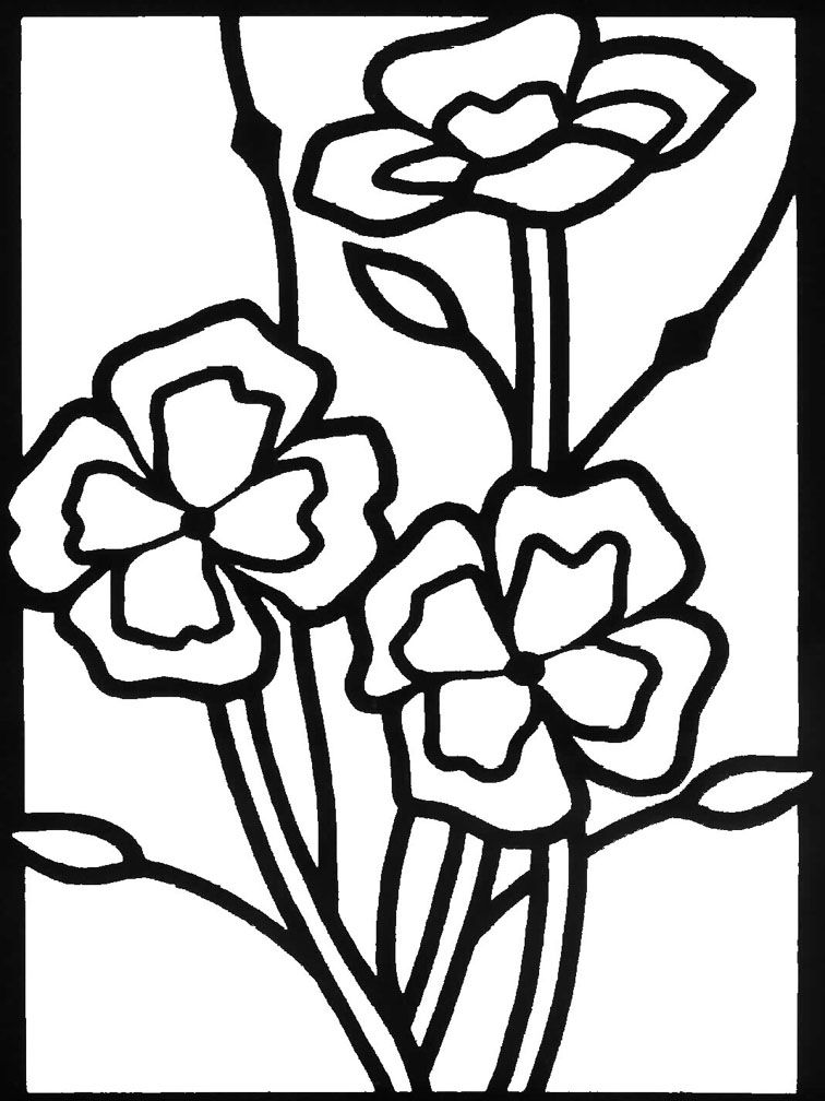 Flower garden coloring page coloring home for Flower garden coloring pages printable