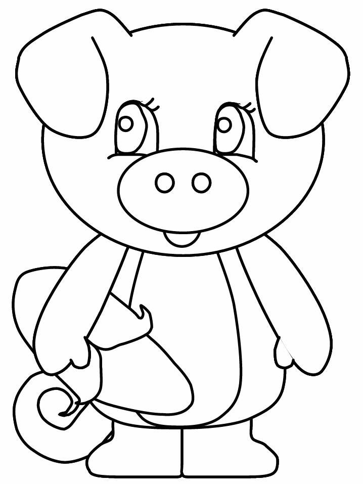free coloring pages of pigs - photo#17