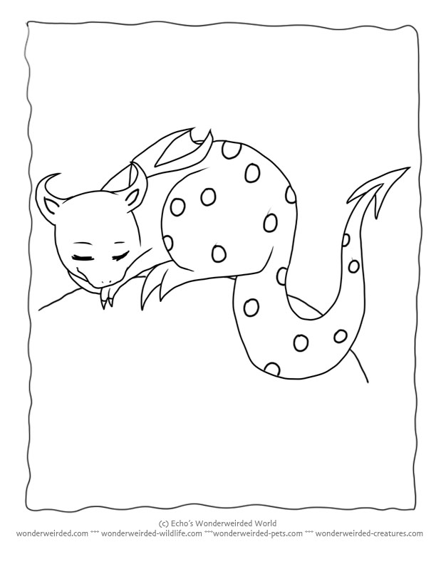 cartoon dragons coloring pages - photo#7